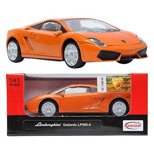 RASTAR LAMBORGHINI Gallardo LP560-4 Orange 143 Die-cast CAR minicar Toy