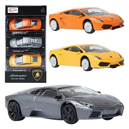 RASTAR Lamborghini Gallaardo Reventon 3SET Die-cast CAR minicar Toy