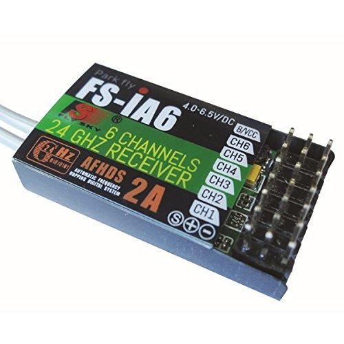Flysky Fs-Ia6 24G 6Ch Afhds Receiver For Fs-I10 Fs-I6 Transmitter