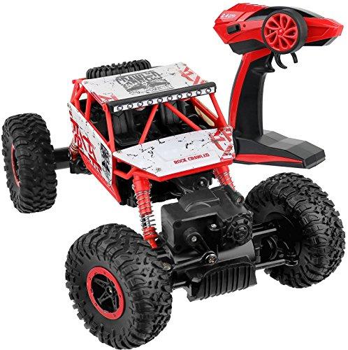Click N Play Rock Crawler RC Car Red Vehicle