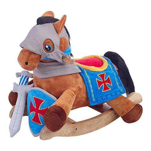 Knights Horse Play and Rock Rocker Rocking Plush Animal