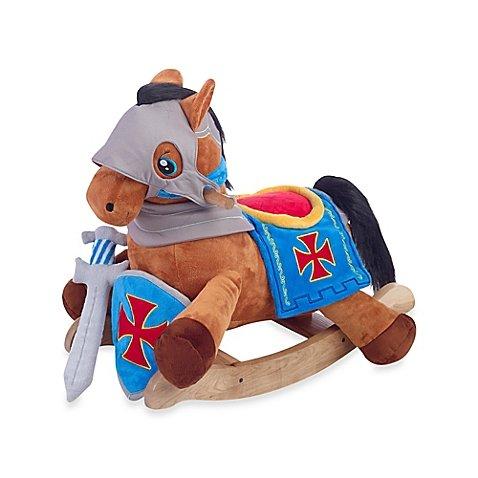 RockabyeTM Knights Horse Musical Play and Rock