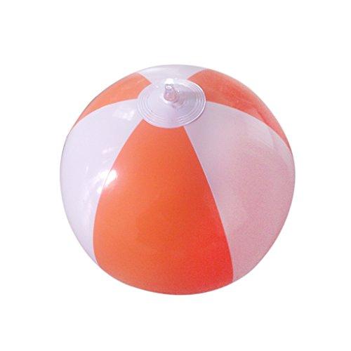 14 Inflatable SwimmingPool party Beach Ball-Orange in White