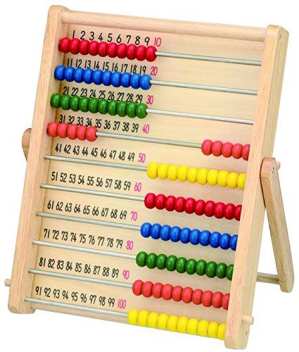 Gakken wooden abacus soroban 100 Ball by Gakken Suteifuru
