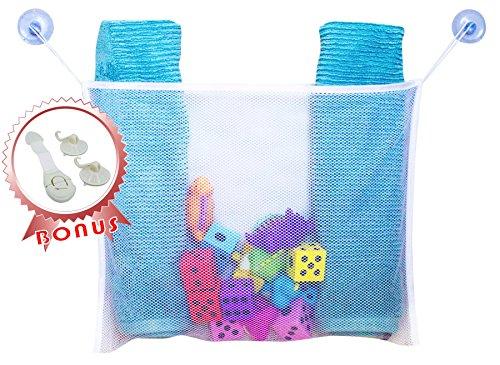 Organizer Kids Bath Toy - Shower Toys Organizer Bonus Lock