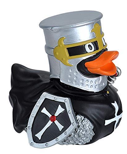 Ducks in the Window Knight Black Rubber Duck Bath Toy Gifts No-Mold Wild Republic