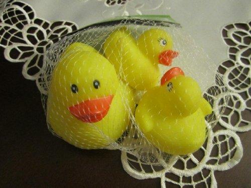 Baby Bath Toy Set - 3pk Ducks