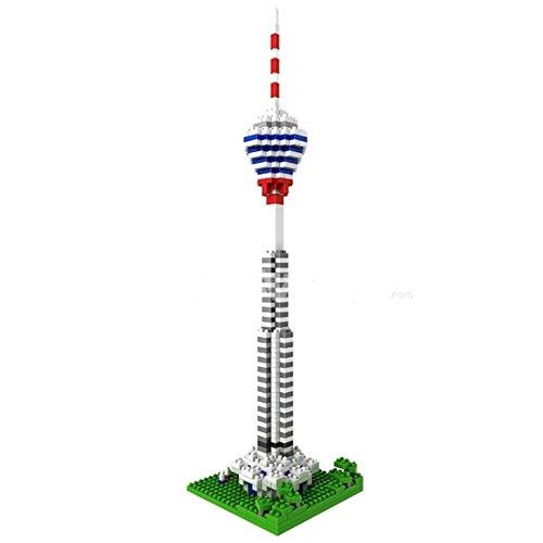 LOZ Diamond Block World Famous Architecture - Kuala Lumpur Tower 9368