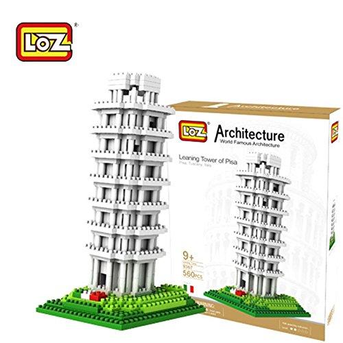 LOZ Diamond Block World Famous Architecture - Leaning Tower of Pisa 9367