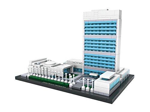LOZ Diamond Block World Famous Architecture - United Nations Headquarters 1014