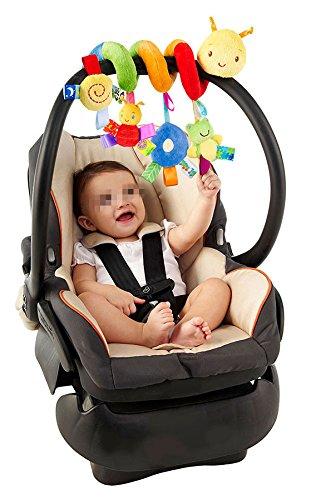 She-love Kid Baby Crib Cot Pram Hanging Rattles Spiral Stroller&Car Seat Toy