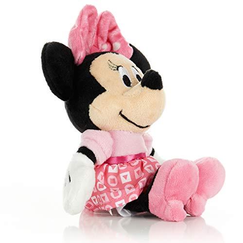 KIDS PREFERRED Disney Baby Minnie Mouse Stuffed Animal Plush Toy Mini Jingler 65 inches