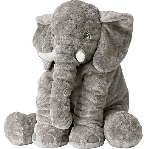 Tuko Big Elephant Stuffed Animals Plush ToyStuffed Elephant Cushion Doll Toy for Kids for Baby Shower Birthdays Children Grand SonsDaughters