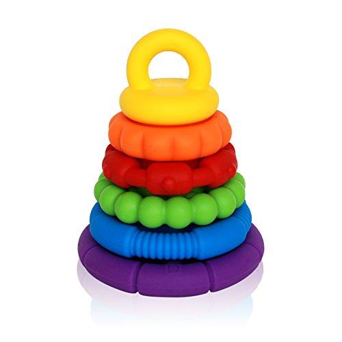 Baby Diva Stacking Toys - 6 Teething Rings
