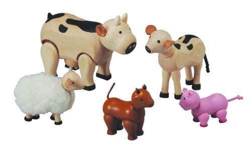 Plan Toy Farm Animal Set