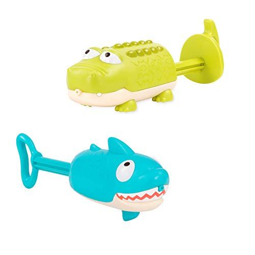 B toys - Splishin Splash Animal Water Squirts Duo Pack - Summer Water Toys for Kids 18 M 2-Pcs