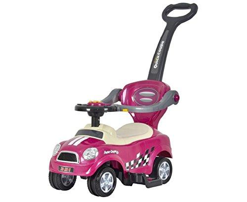 BRC Toys Mini 3-in-1 Push Car Purple