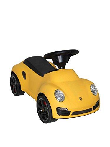 Best Ride on Car Porsche Turbo Push Car Yellow
