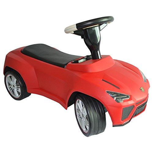 Costzon Licensed Lamborghini Kids Ride On Push Car Toddler Baby Toy Racer