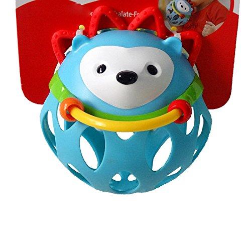 Bonitaperlas Infant Baby Rattle Ball Toy Hedgehog