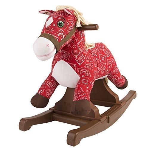 Rockin Rider Bandana Vintage Rocking Pony Ride-On by Rockin Rider