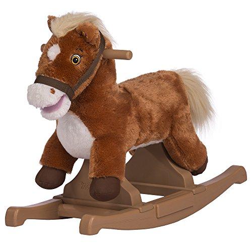 Rockin Rider Brown Rocking Pony Ride-On