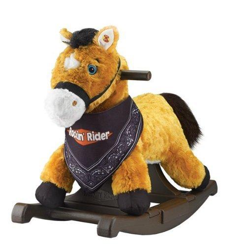 Rockin Rider Rocking Pony Bandana Included Chestnut by Tek Nek