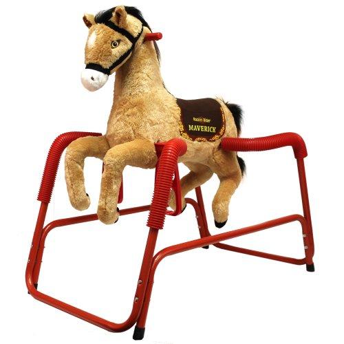 Rockin Rider Maverick Plush Spring Horse