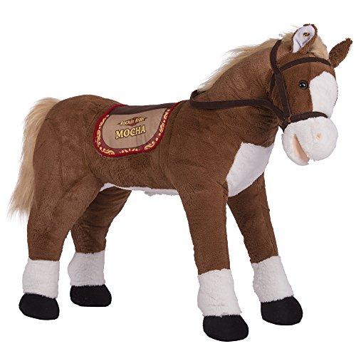 Rockin Rider Mocha Stable Horse Plush Brown