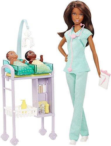 Barbie Careers Baby Doctor Doll Playset Brunette