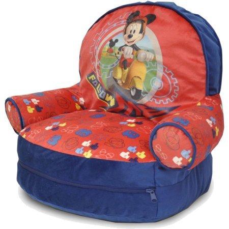 Disney Mickey Mouse Bean Bag with BONUS Slumber Bag