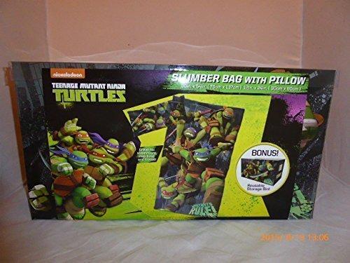Teenage Mutant Ninja Turtles Slumber Bag and Pillow with Bonus