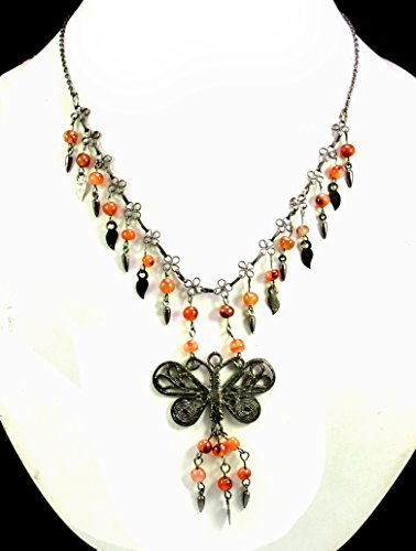 Unique Fashion Costume Boho Hippie Multi Color Jewelry Necklace for Ladies