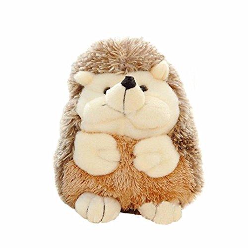Transer Cute Hedgehog Zoo Animals Stuffed Plush Doll Gifts Interactive Toys Hedgehog - 63