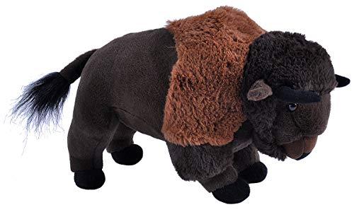 Wild Republic Bison Plush Stuffed Animal Plush Toy Kids Gifts Zoo Animals13 inches