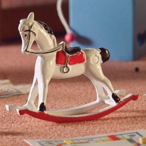 The Dolls House Emporium White Rocking Horse by The Dolls House Emporium