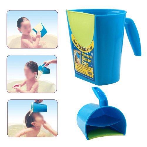 TOOGOOR Baby Child Wash Hair Eye Shield Shampoo Rinse Cup