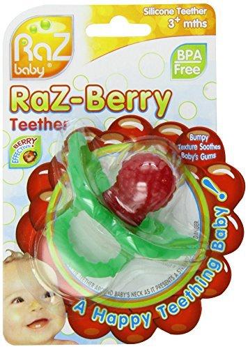 Razbaby RaZ-berry Teether Red by Razbaby