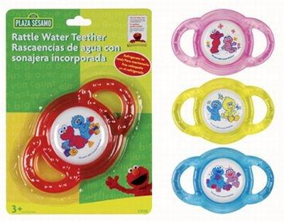 Sesame Street Rattle Water Teether 3-Pack