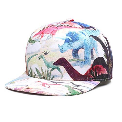 Zoylink Christmas Baseball Cap Baseball Hat Dinosaur Pattern Sports Cap for Men Women