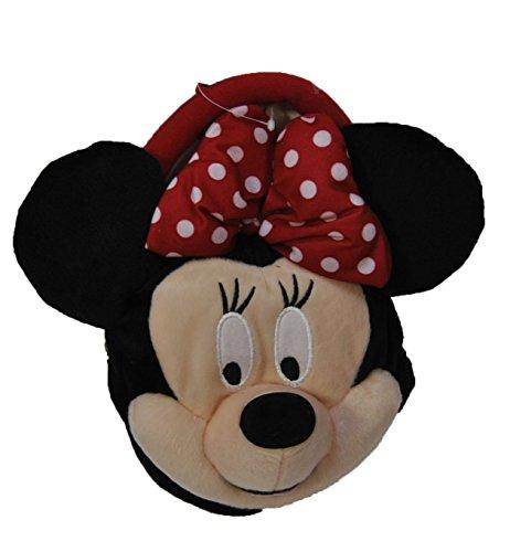 Authentic Disney Minnie Mouse w bow Plush Girls Short Strap Purse Bag