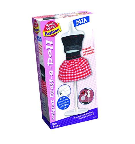 Small World Toys Fashion - Designer Dress a Doll - Mia Plush Purse