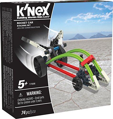 KNEX - Rocket Car Building Set  74 Pieces  For Ages 5 Construction Education Toy