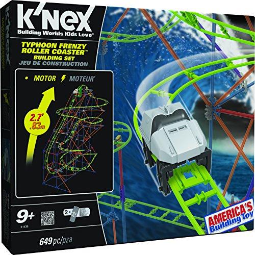 Knex Typhoon Frenzy Roller Coaster Building Set