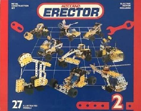 Erector Metal Construction Set 2