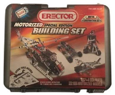 Erector Special Edition Building Set Metal Construction Set 25 Models