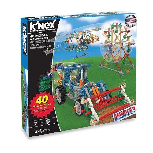 KNEX 40 Model Building Set