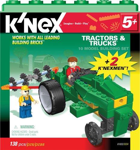 KNex Tractors and Trucks 10 Model Building Set