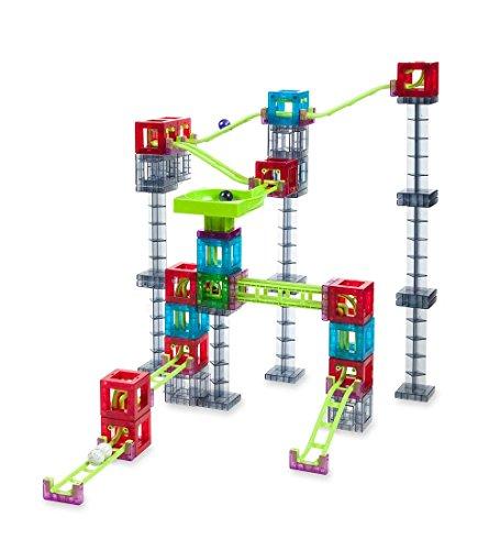 Qvolution Magnetic Cube 42pc Marble Run Construction Set