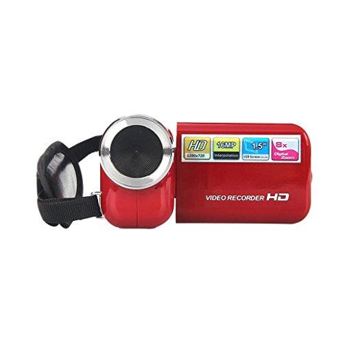 Gotd DV180 15 TFT 16MP 8X Digital Zoom Video Camcorder Camera HD DV Red